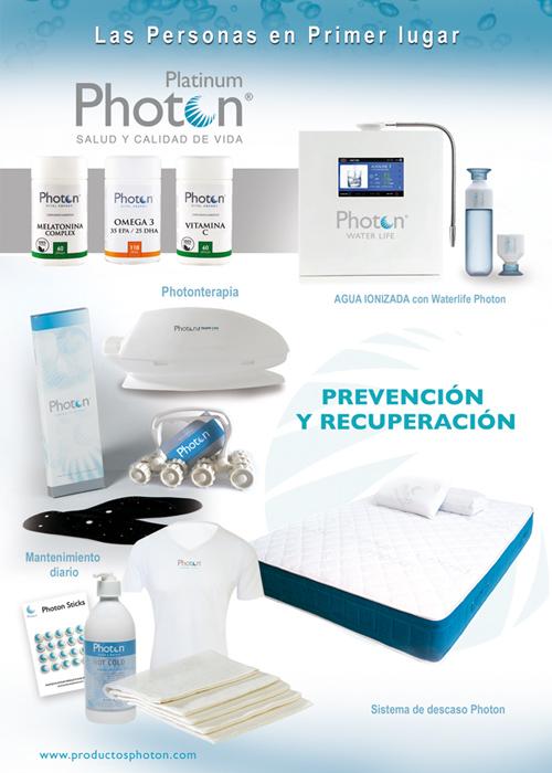 Gama de Prevención y Recuperación. Productos para mejorar su salud, bienestar y calidad de vida.